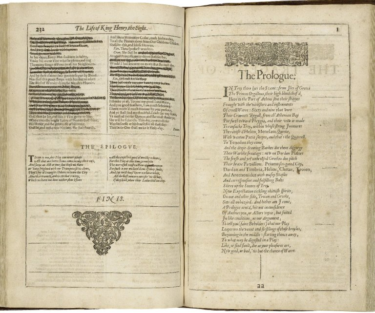 The censored final lines of the Folger's Valladolid copy of the Second Folio