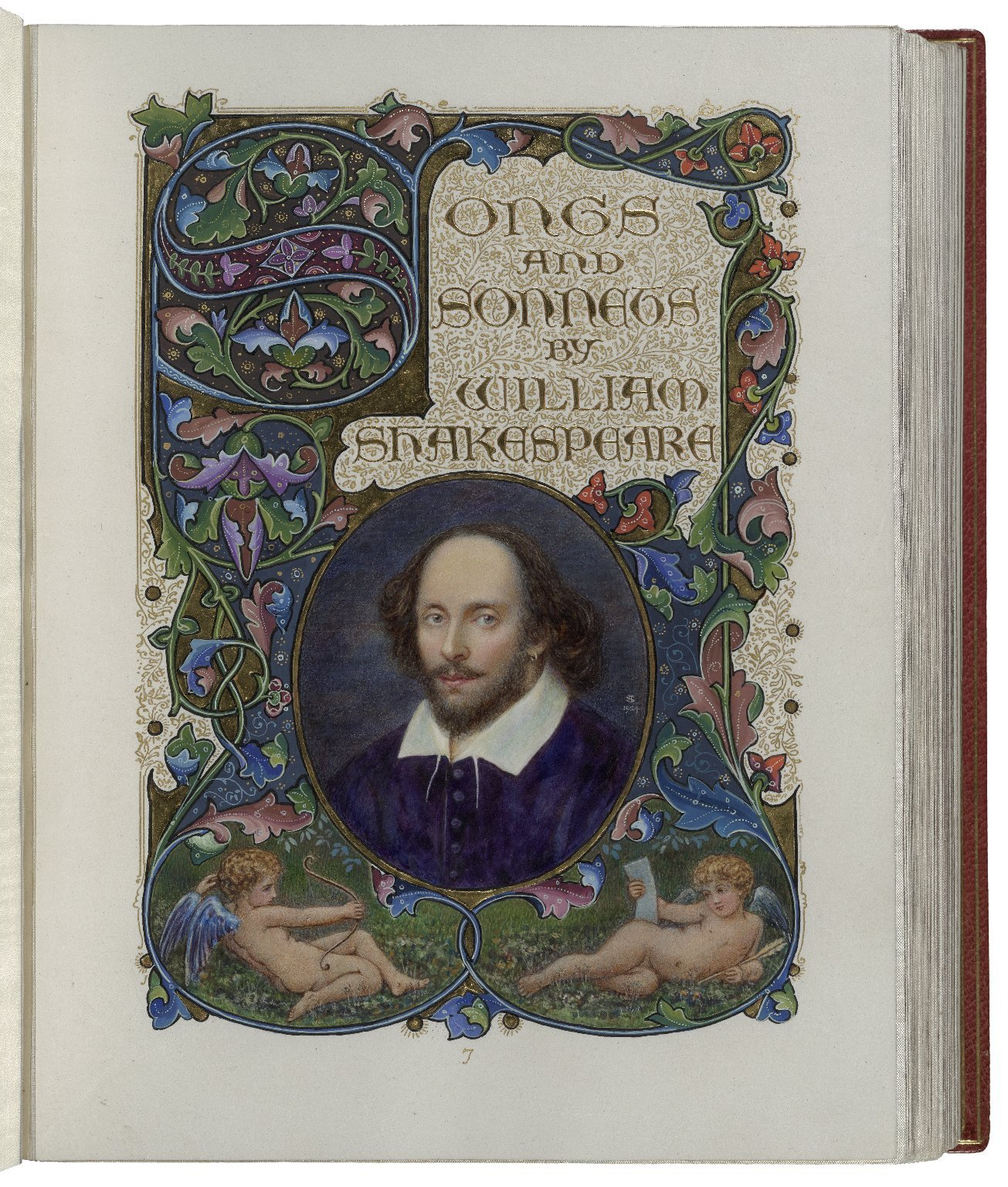 Songs and sonnets by Shakespeare title page