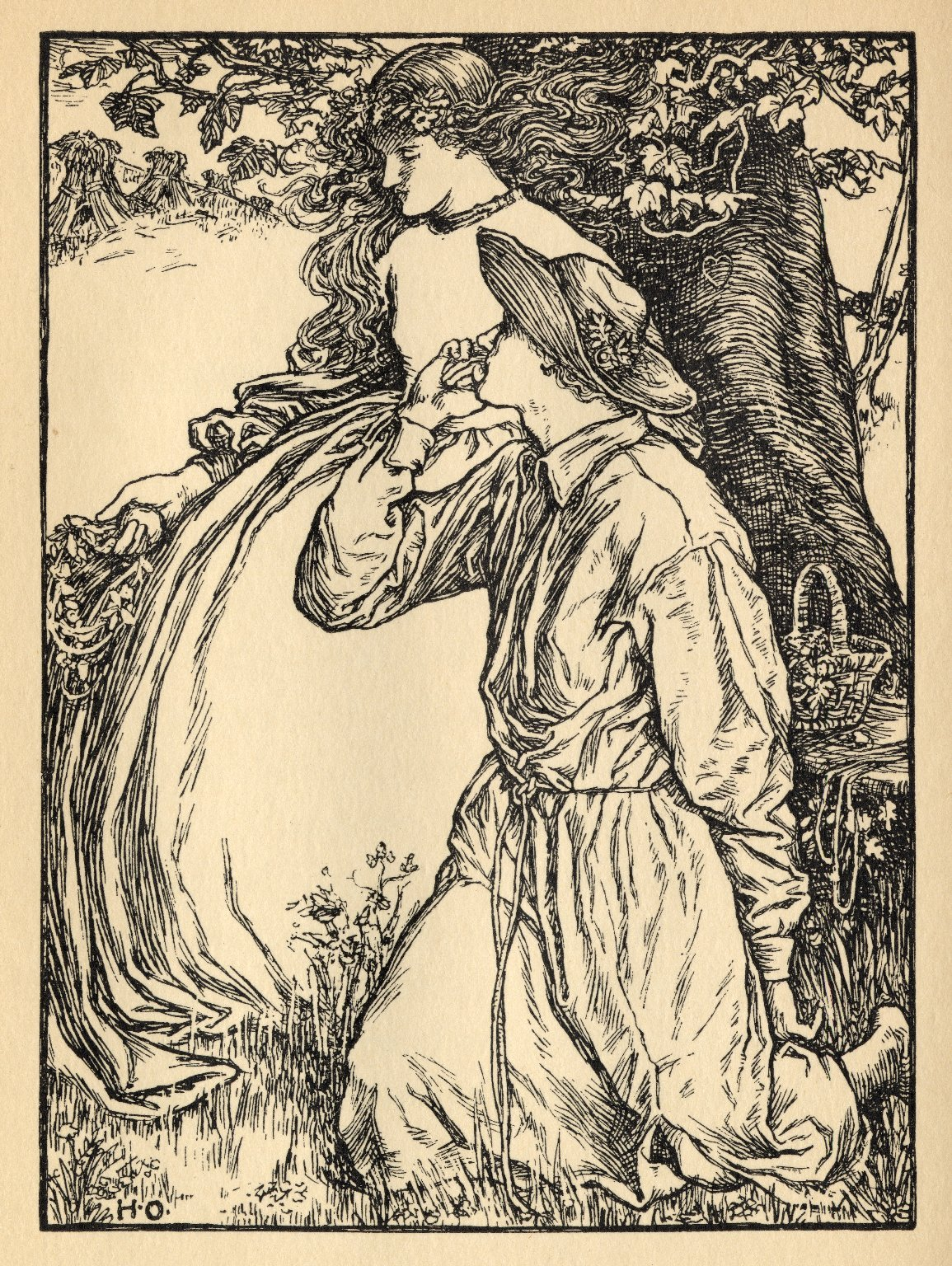 Illustration for Shakespeare Sonnet 91