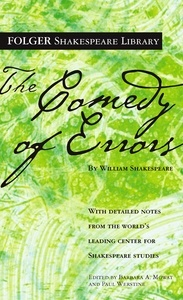 Cover of the Folger edition of The Comedy of Errors
