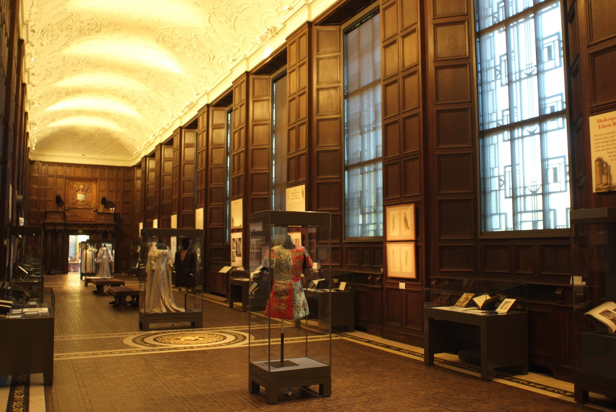 Great Hall at the Folger Shakespeare Library