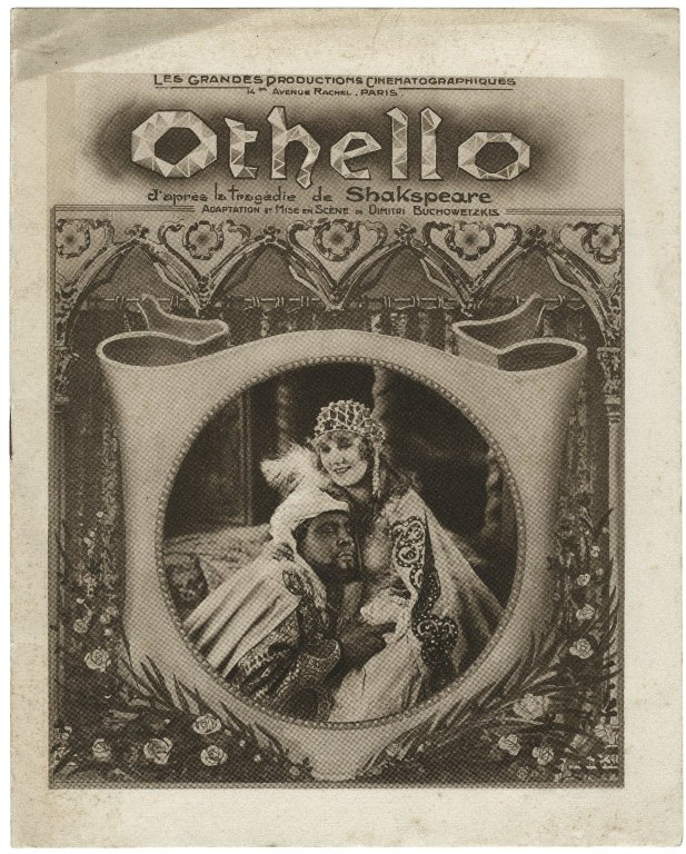 Emil Jannings and Ica de Lenkeffy as Othello and Desdemona (1922)
