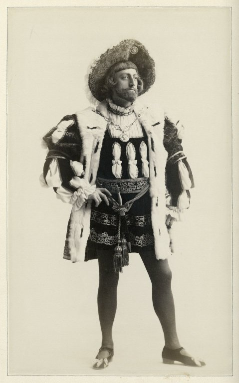 John Drew as King of Navarre (1891)