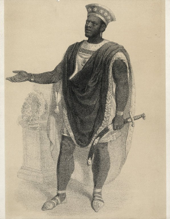 Ira Aldrige as Othello (1854)