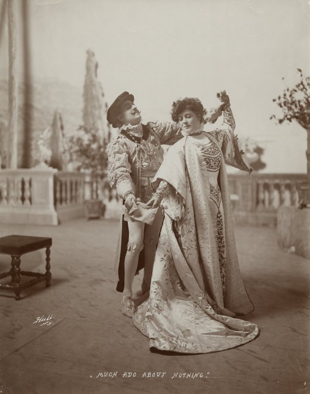 E.H. Sothern and Julia Marlowe as Benedick and Beatrice (1904)