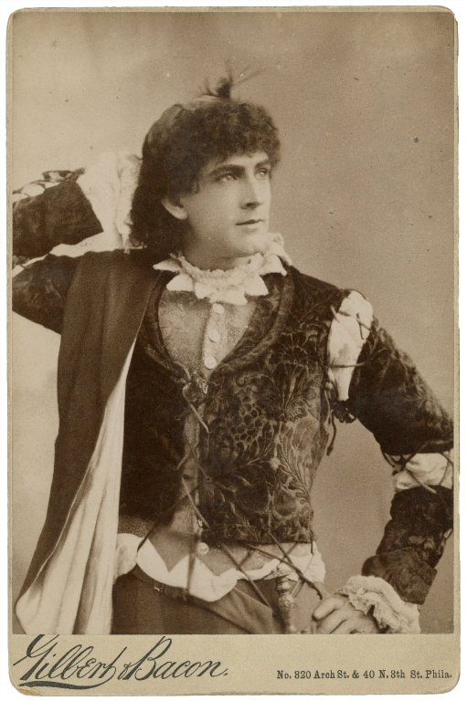 Maurice Barrymore as Orlando (late 19th century)