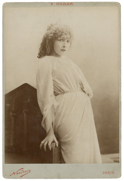 Sarah Bernhardt as Lady Macbeth (late 19th century)