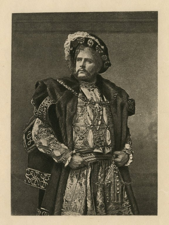 Edwin Booth as Henry VIII (mid- to late 19th century)