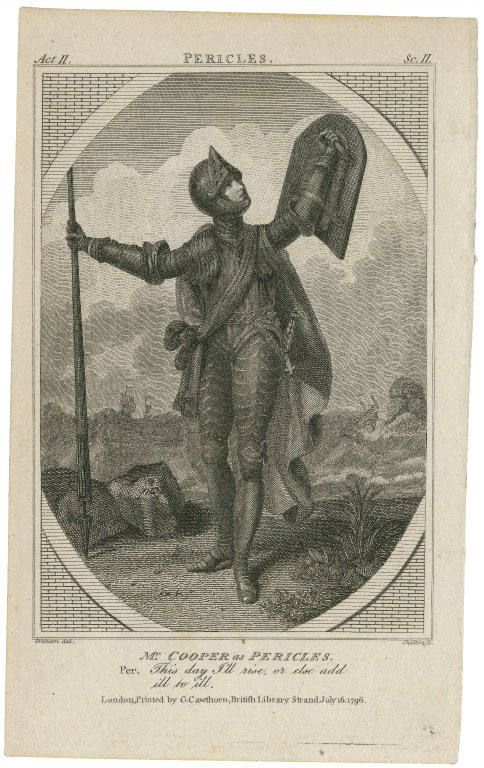 Thomas Cooper as Pericles (1796)
