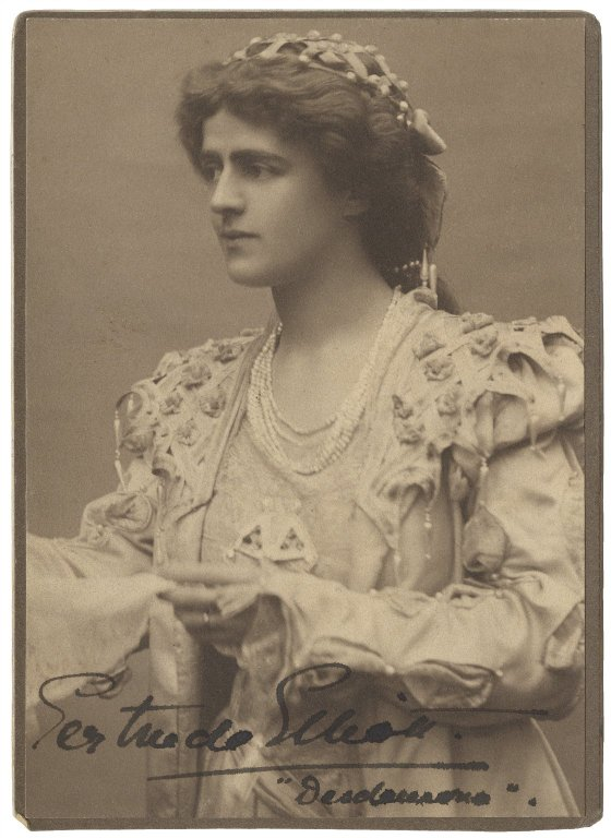 Gertrude Elliott as Desdemona (1902)