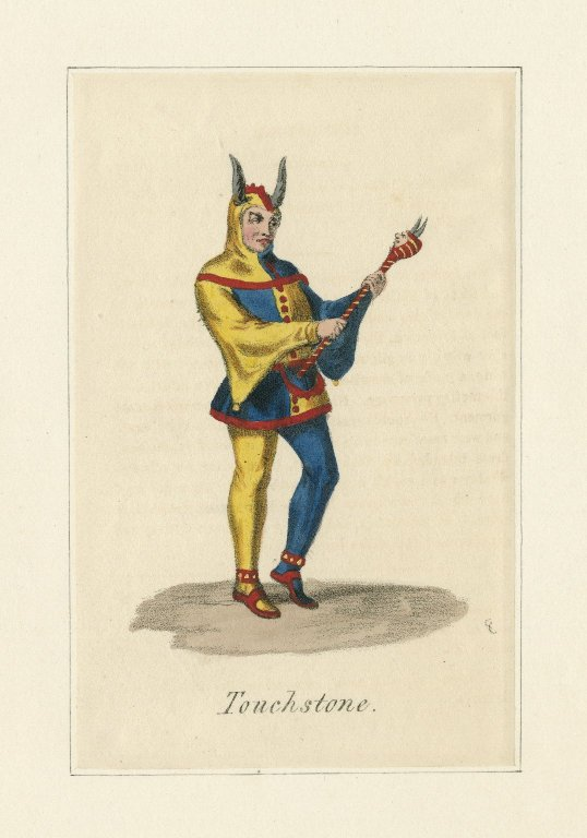 Costume for Touchstone (1824)