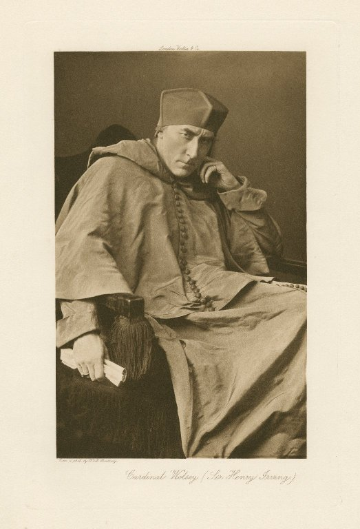 Henry Irving as Cardinal Wolsey (1892)