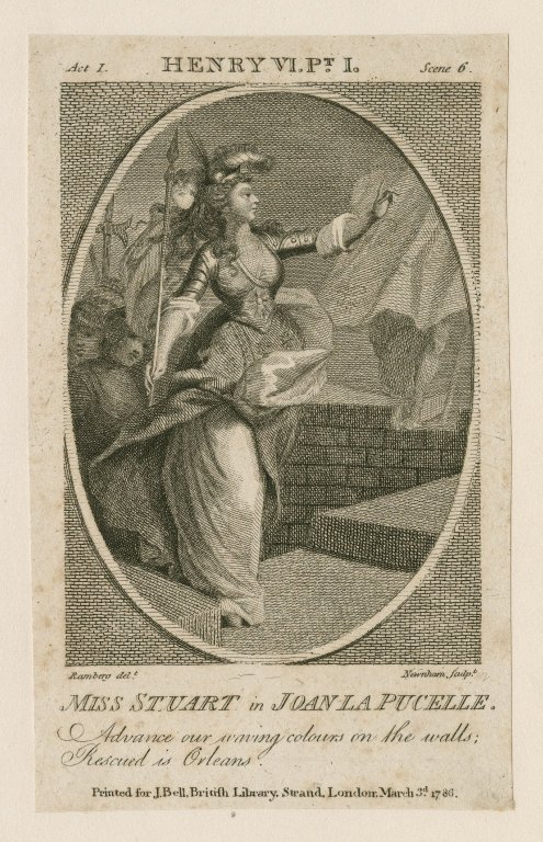 Ann Stuart as Joan (Act 1, scene 6; 1786)
