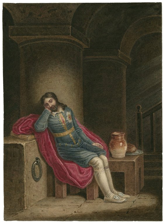 Richard in prison (early 19th century)