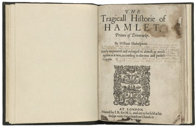 opening of Hamlet in the Second Quarto