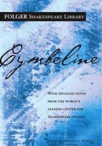 cover of the Folger edition of Cymbeline
