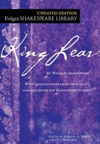cover of the Folger edition of King Lear