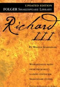 cover of the Folger edition of Richard III