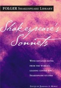 cover of the Folger edition of Shakespeare's sonnets